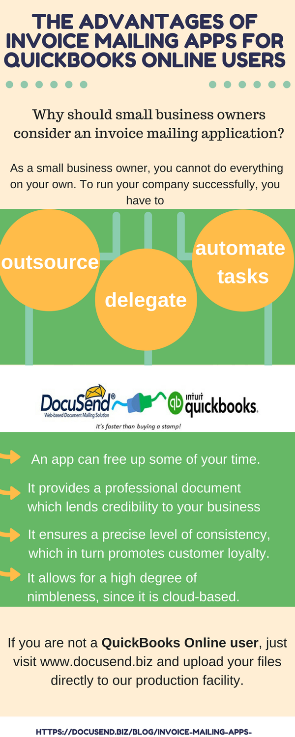 Mailing and printing from QuickBooks
