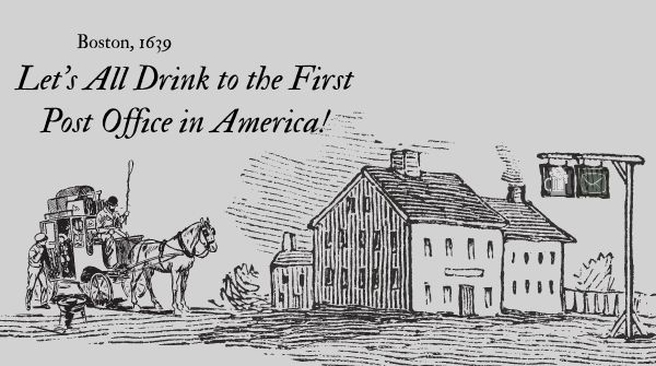 First Post Office in America