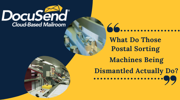 Interesting facts about postal sorting machines