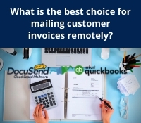 Mail QuickBooks Invoices with DcuSend